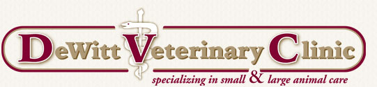 DeWitt Veterinary Clinic Logo